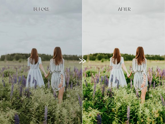 Vibrant SPRING Lightroom Presets in Add-Ons - product preview 5