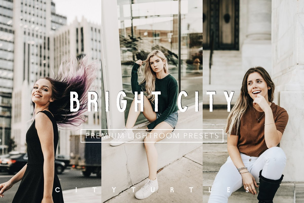 Warm BRIGHT CITY Lightroom Presets in Add-Ons - product preview 8