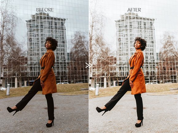 Warm BRIGHT CITY Lightroom Presets in Add-Ons - product preview 3