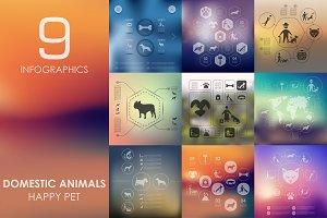 9 pets infographics