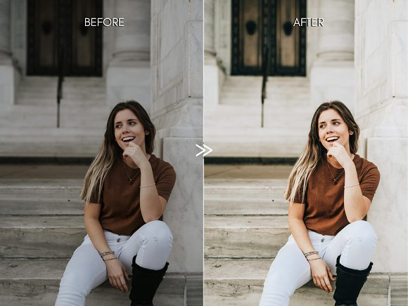 Warm BRIGHT CITY Lightroom Presets in Add-Ons - product preview 5
