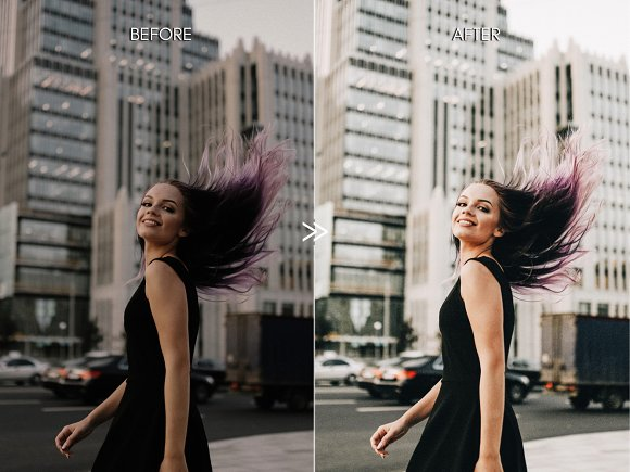 Warm BRIGHT CITY Lightroom Presets in Add-Ons - product preview 7
