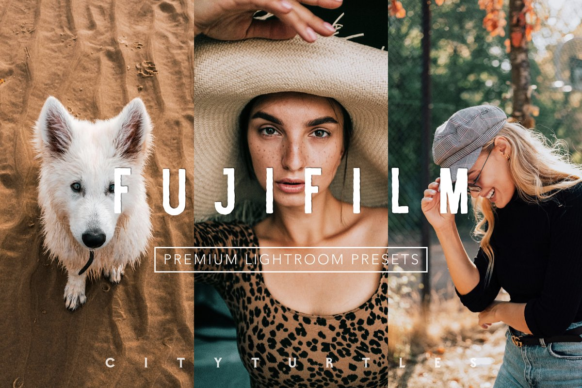 Bright Vibrant FUJIFILM LR Presets in Add-Ons - product preview 8