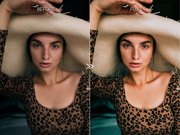 Bright Vibrant FUJIFILM LR Presets in Add-Ons - product preview 1