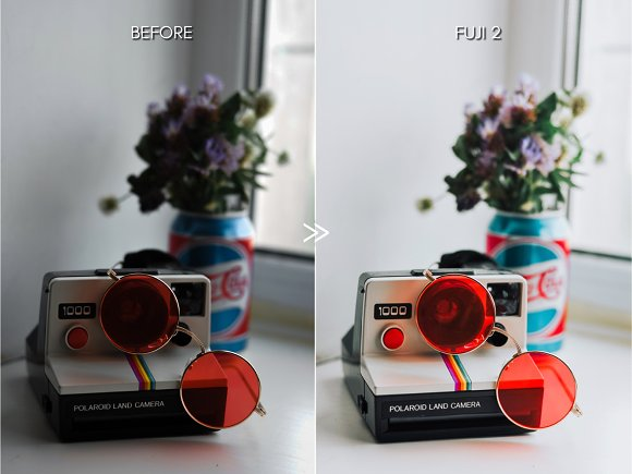 Bright Vibrant FUJIFILM LR Presets in Add-Ons - product preview 4