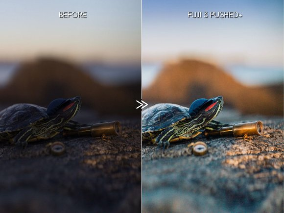 Bright Vibrant FUJIFILM LR Presets in Add-Ons - product preview 5