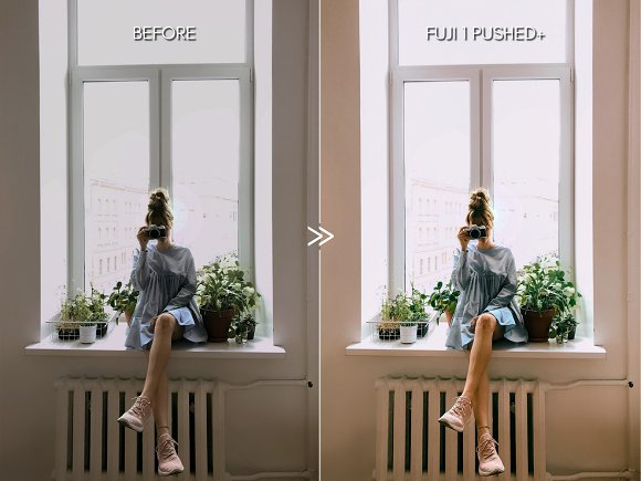 Bright Vibrant FUJIFILM LR Presets in Add-Ons - product preview 7