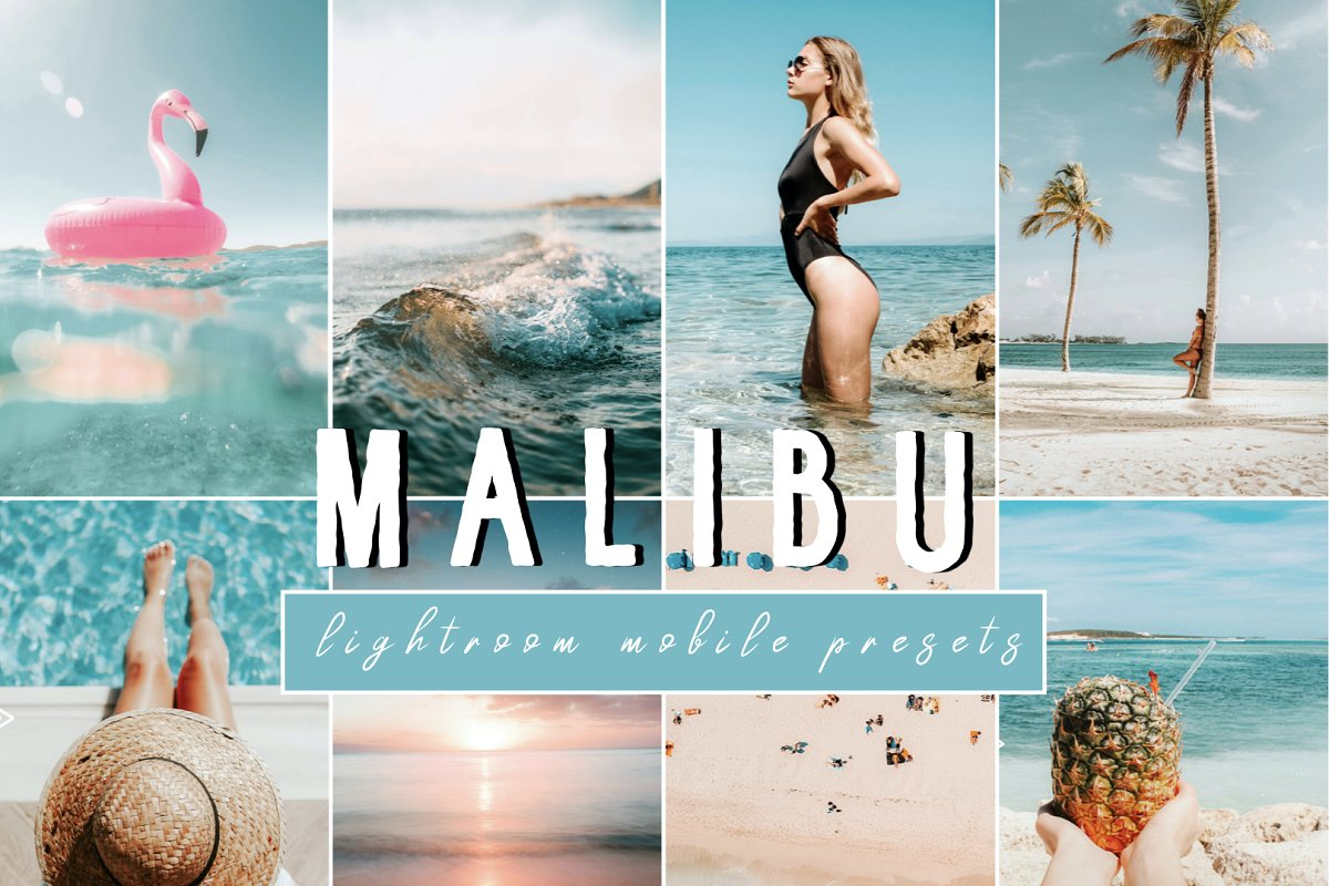 Vibrant MALIBU Mobile Phone Presets in Add-Ons - product preview 8