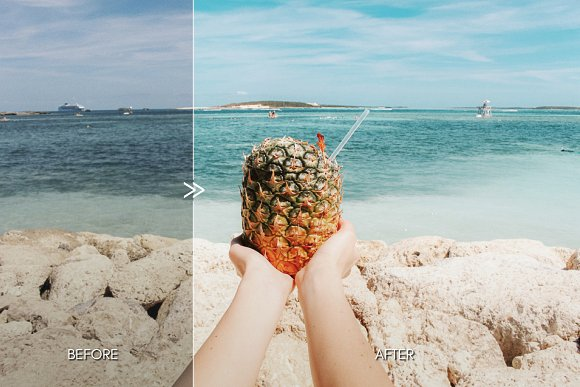 Vibrant MALIBU Mobile Phone Presets in Add-Ons - product preview 2