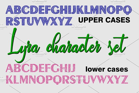 LYRA in Display Fonts - product preview 1