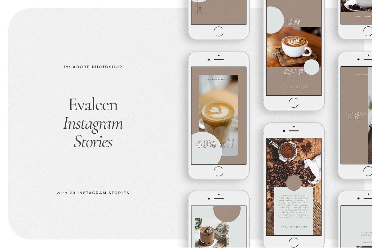 EVALEEN Instagram Stories in Instagram Templates - product preview 8