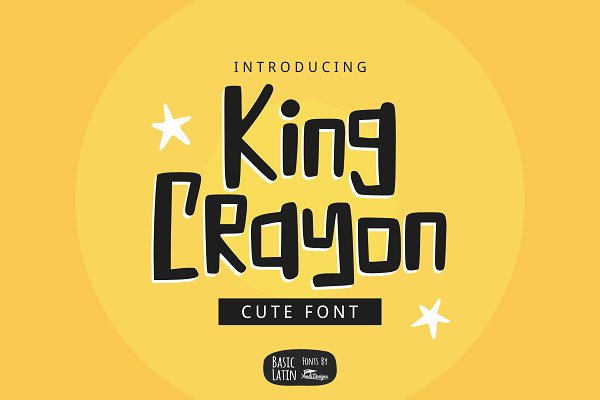 King Crayon Font (70% OFF)