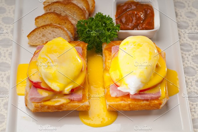 eggs benedict sandwich 06.jpg - Food & Drink