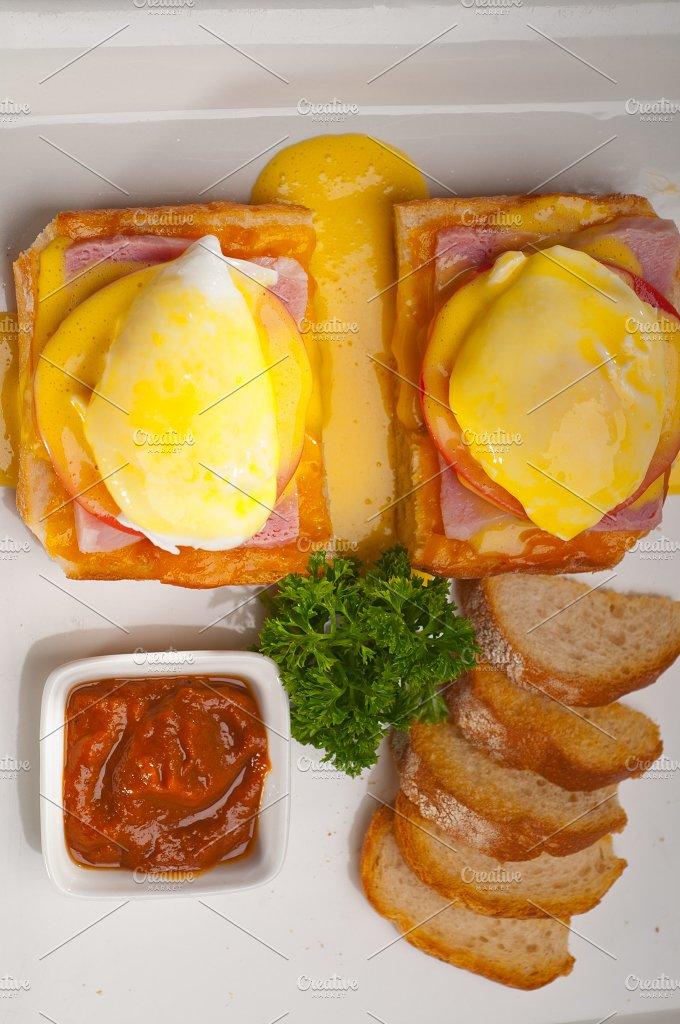 eggs benedict sandwich 07.jpg - Food & Drink