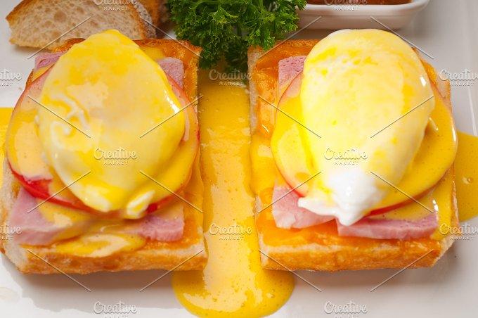 eggs benedict sandwich 05.jpg - Food & Drink