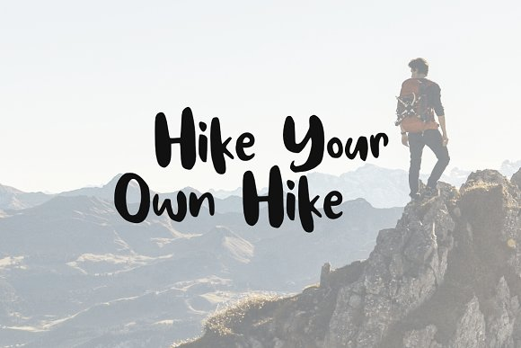 Hike More Font in Sans-Serif Fonts - product preview 2