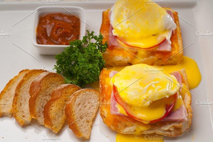 eggs benedict sandwich 11.jpg - Food & Drink