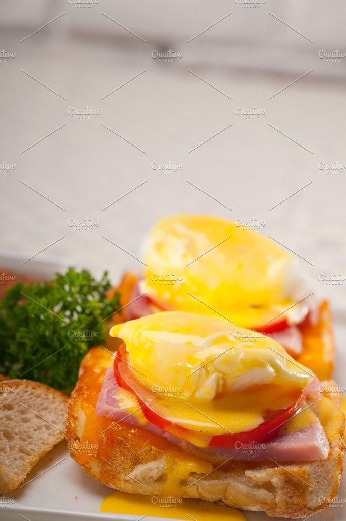 eggs benedict sandwich 13.jpg - Food & Drink
