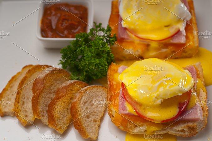 eggs benedict sandwich 15.jpg - Food & Drink