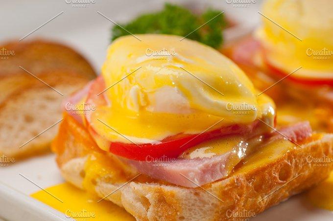 eggs benedict sandwich 19.jpg - Food & Drink