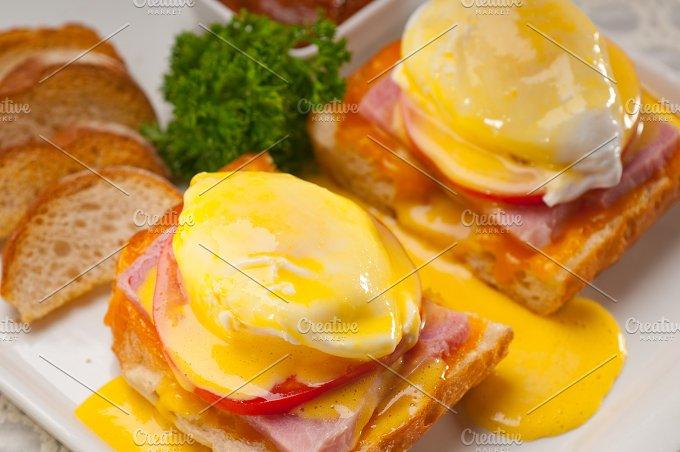 eggs benedict sandwich 21.jpg - Food & Drink