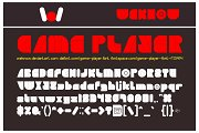 Game Player Font