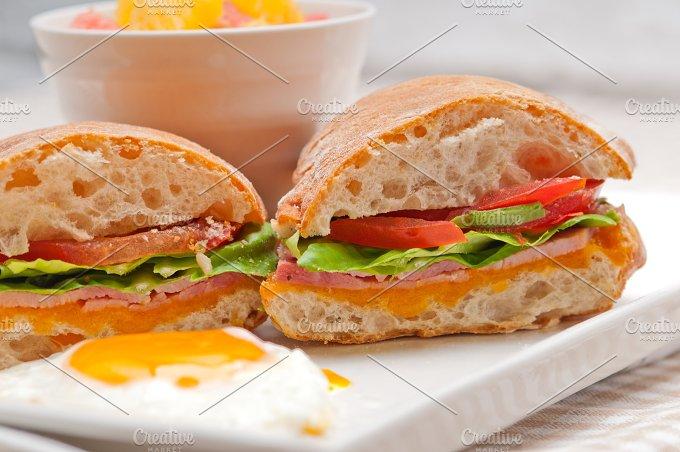 eggs tomato lettuce ciabatta sandwich 19.jpg - Food & Drink