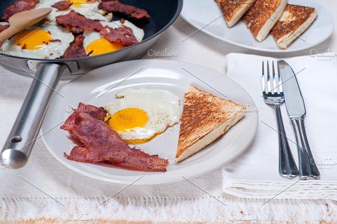 eggs bacon and toast 06.jpg - Food & Drink