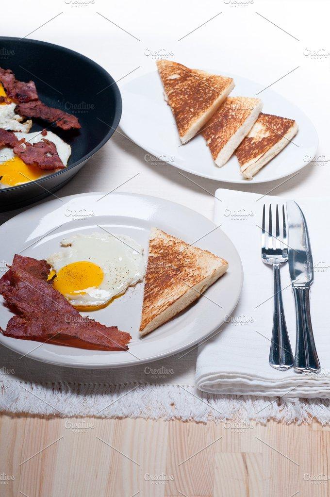 eggs bacon and toast 02.jpg - Food & Drink