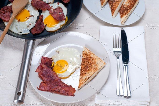 eggs bacon and toast 08.jpg - Food & Drink