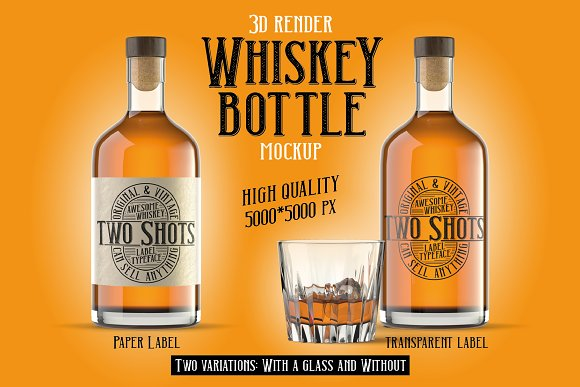 Two Shots label font in Display Fonts - product preview 5