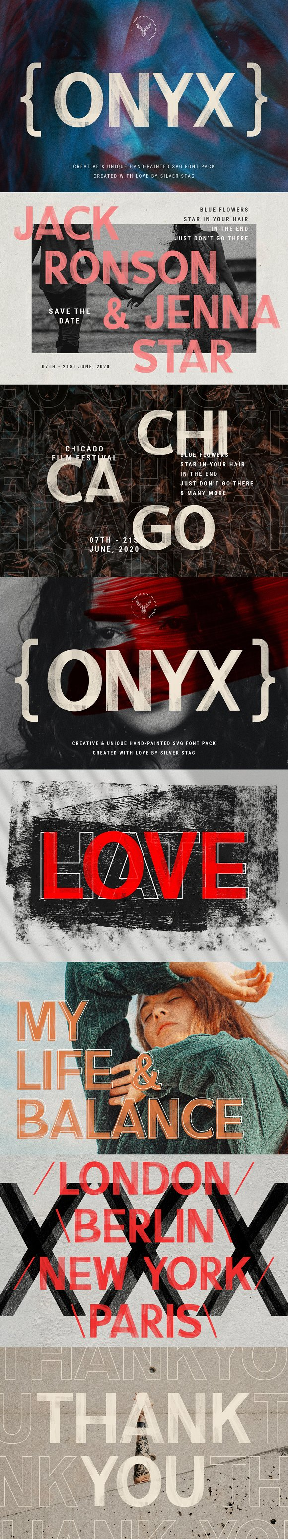 35% OFF - ONIX Hand-Painted SVG Font in Display Fonts - product preview 16