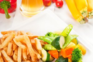chicken breast roll and vegetables 06.jpg