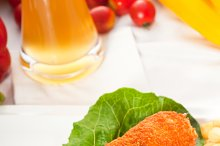 chicken breast roll and vegetables 03.jpg