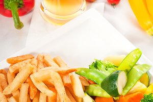 chicken breast roll and vegetables 05.jpg