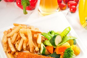 chicken breast roll and vegetables 07.jpg