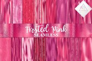 Seamless Frosted Pink Backgrounds