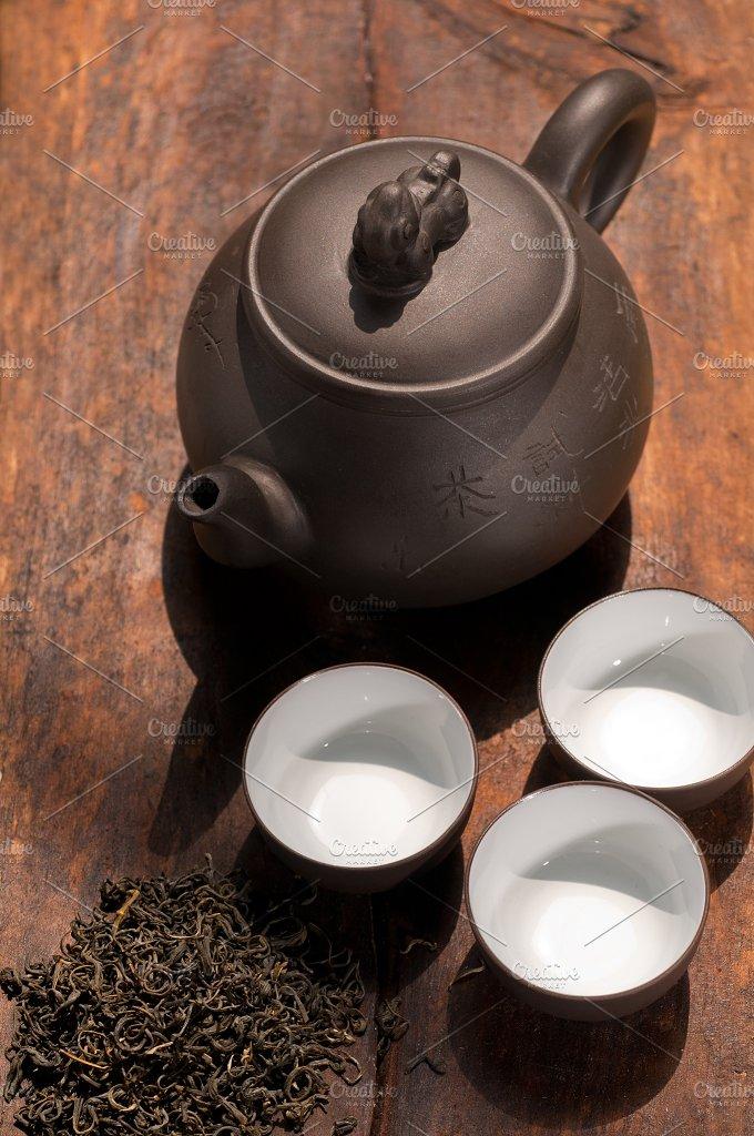 chinese green tea set 10.jpg - Food & Drink