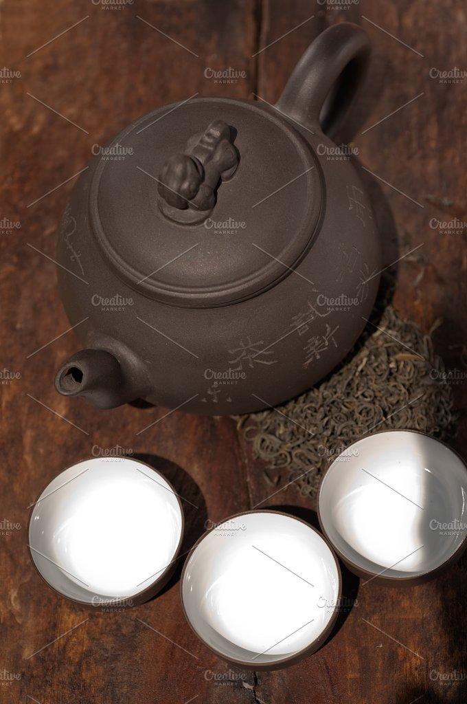 chinese green tea set set 5.jpg - Food & Drink