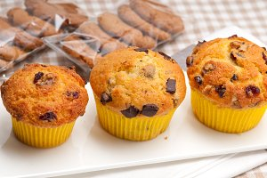 chocolate and raisins muffins  dessert cake 03.jpg