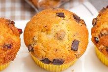 chocolate and raisins muffins  dessert cake 04.jpg