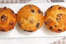 chocolate and raisins muffins  dessert cake 05.jpg