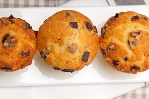 chocolate and raisins muffins  dessert cake 05.jpg