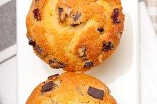 chocolate and raisins muffins  dessert cake 06.jpg