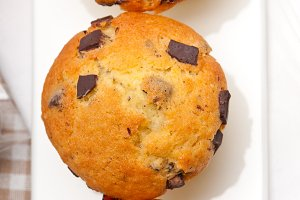 chocolate and raisins muffins  dessert cake 06.jpg