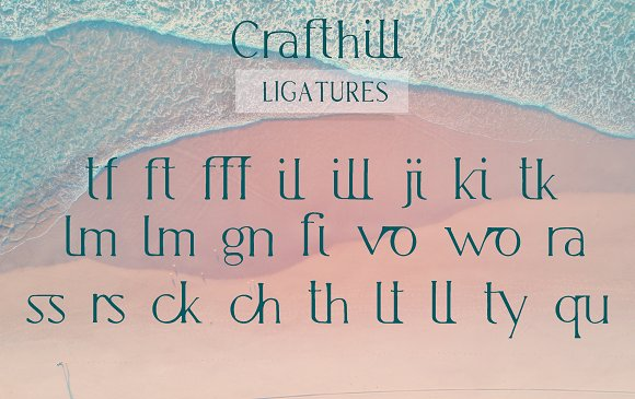 -25% Crafthill. Elegant Serif Font. in Serif Fonts - product preview 8