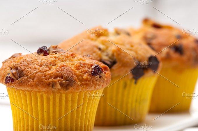 chocolate and raisins muffins dessert cake 07.jpg - Food & Drink