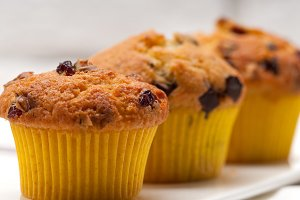 chocolate and raisins muffins  dessert cake 08.jpg