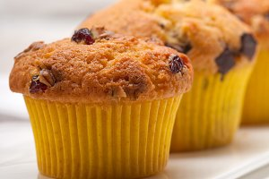 chocolate and raisins muffins  dessert cake 10.jpg