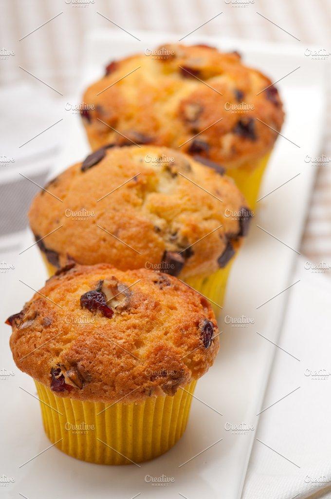 chocolate and raisins muffins dessert cake 13.jpg - Food & Drink